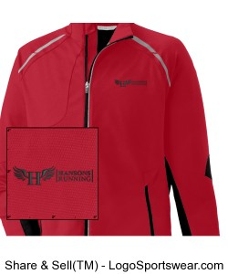 Men's Softshell Jacket Design Zoom